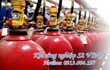 Bình khí CO2 40 lít