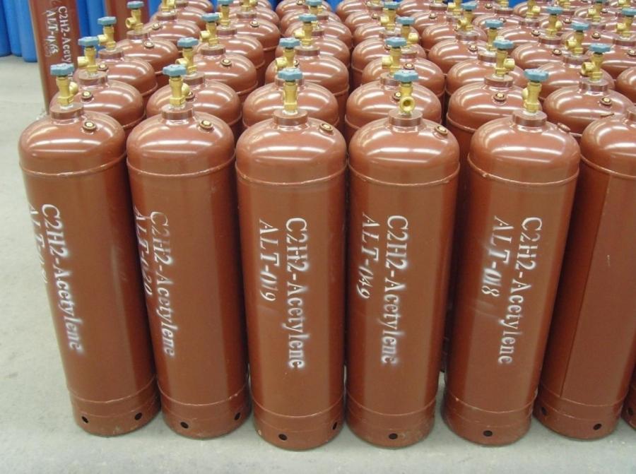 Quy trình sản xuất khí axetylen