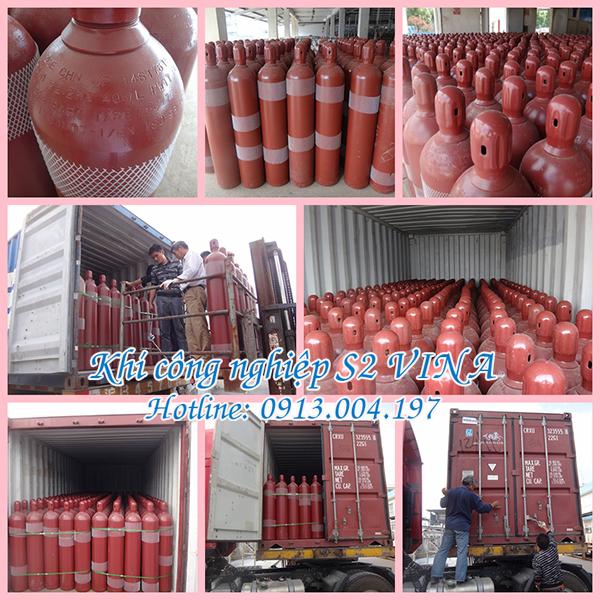 Khí công nghiệp tại KCN Quế Võ, Bắc Ninh