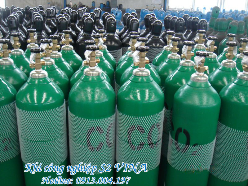 khí CO2 trong thuc pham