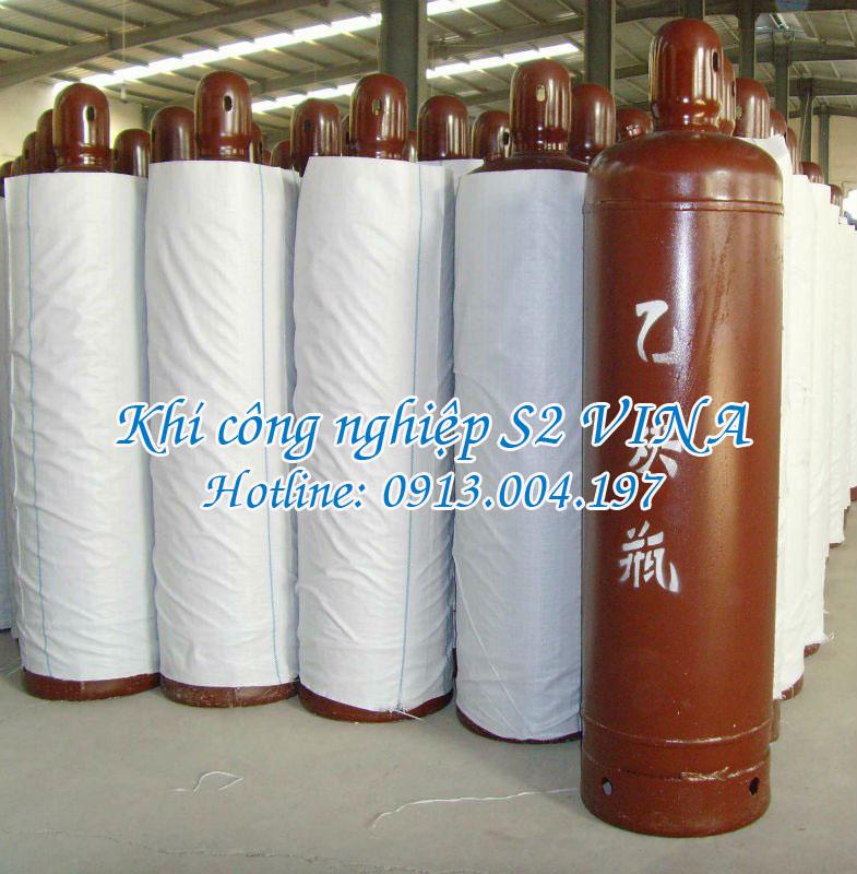 Bình khí C2H2 50 lít