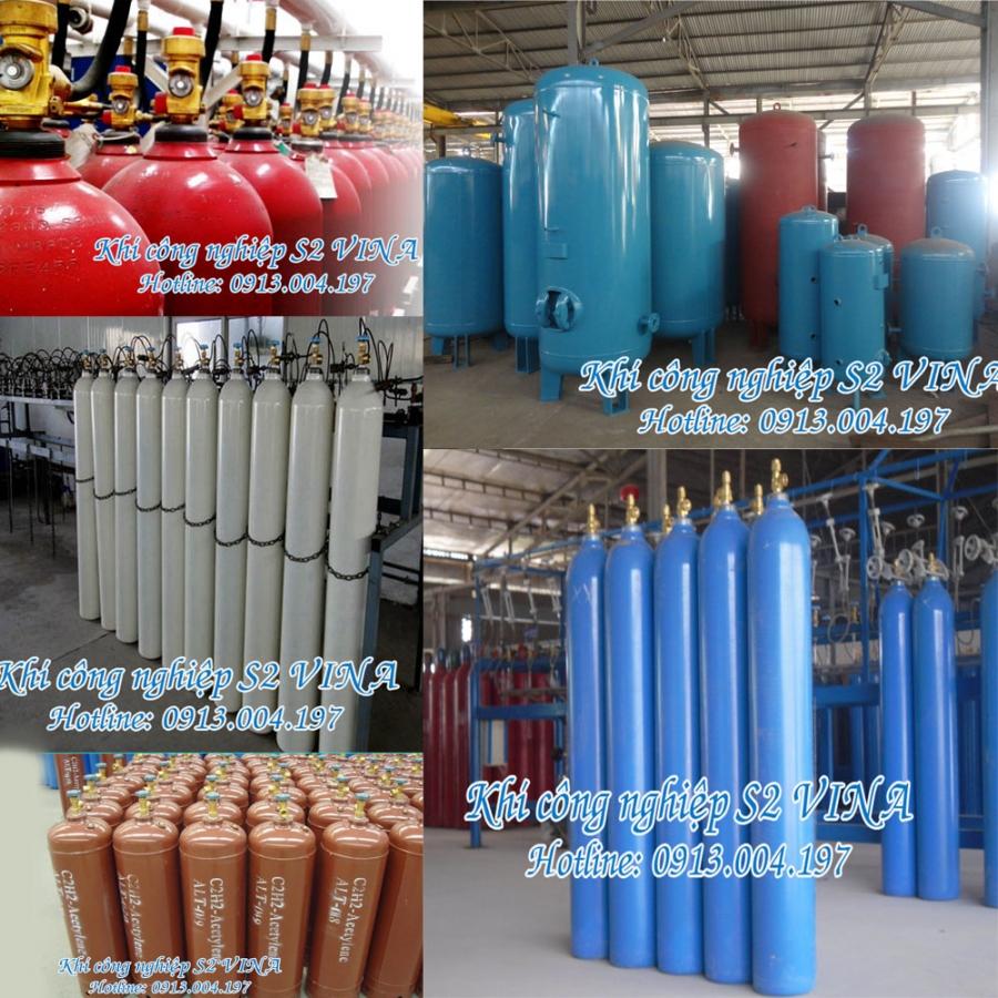 Công ty sản xuất khí công nghiệp S2 VINA