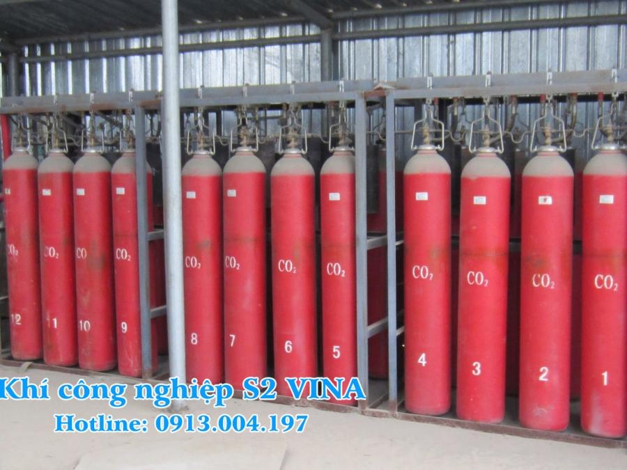 bán khí công nghiệp co2 giá rẻ