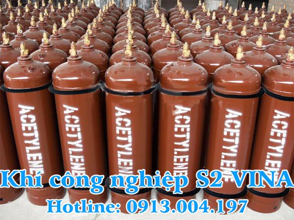 Bình khí công nghiệp Acetylen lỏng
