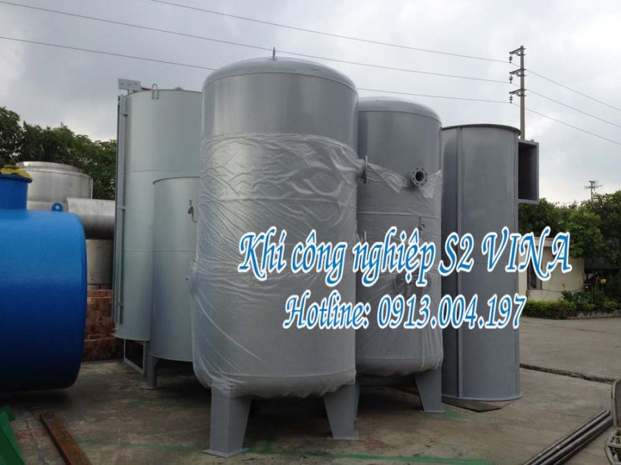 Công nghệ bình chứa khí công nghiệp áp lực cao