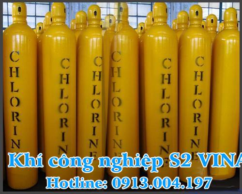 Ứng dụng của khí công nghiệp CLO