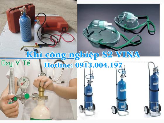 bán bình khí oxy y tế tại bắc ninh