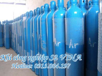 Bình khí Argon 47 lít