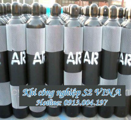 Bình khí Argon 40 lít